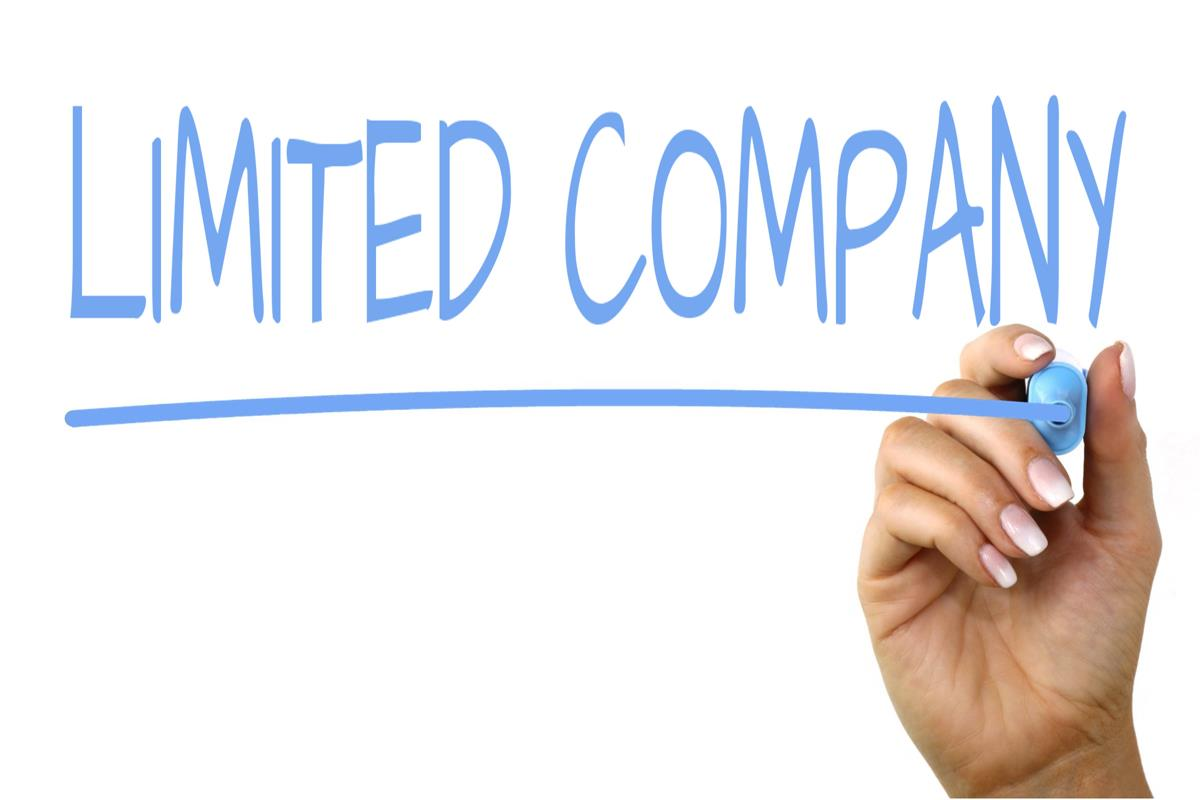 Limited Company sign