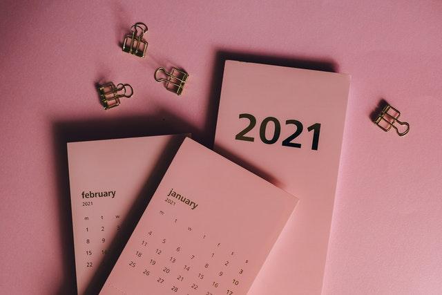 January 21 Calendar Image